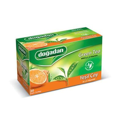 Green Tea with A-C-E Vitamins , 20 teabags 2 pack