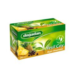 Doğadan - Green Tea with Acai-Pineapple , 20 teabags