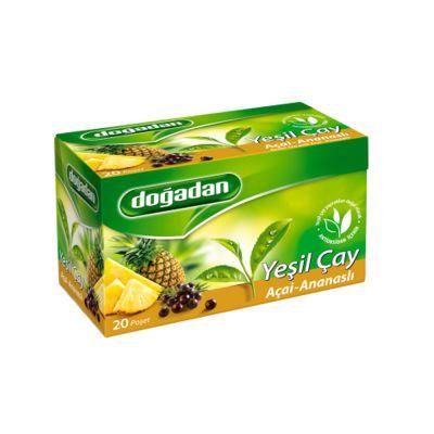 Green Tea with Acai-Pineapple , 20 teabags 2 pack