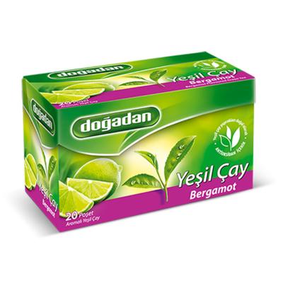 Green Tea with Bergamot , 20 teabags 2 pack