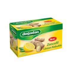Doğadan - Green Tea with Ginger-Lemon Mild Taste , 20 teabags