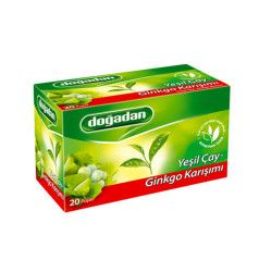 Doğadan - Green Tea with Ginkgo , 20 teabags