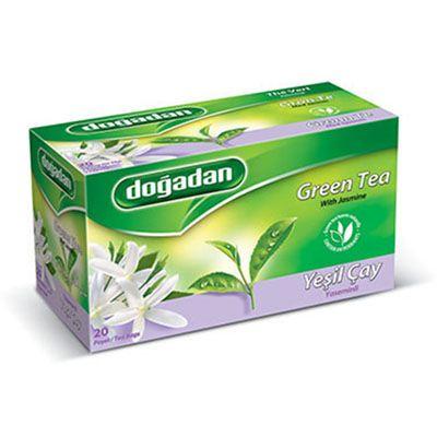 Green Tea with Jasmine , 20 teabags 2 pack