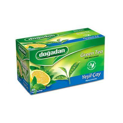 Green Tea with Mint-Lemon , 20 teabags 2 pack