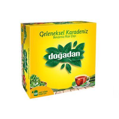 Traditional Black Sea Tea , 100 teabags