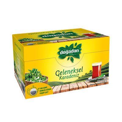 Traditional Black Sea Tea , 100 teapotbags