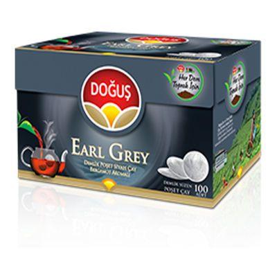 Earl Grey Tea Pot Bags Turkish Tea , 100 teabags