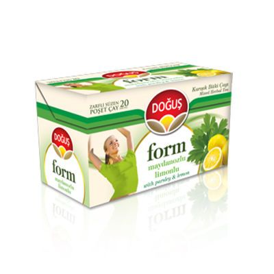 Form Tea With Parsley and Lemon , 20 teabags 2 pack