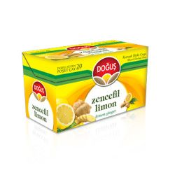 Doğuş - Ginger Lemon Tea , 20 teabags