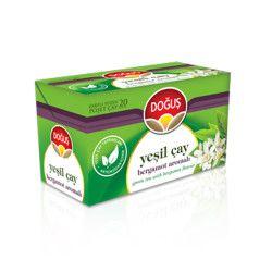 Doğuş - Green Tea with Bergamot , 20 teabags