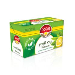 Doğuş - Green Tea with Lemon , 20 teabags