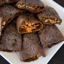 Dried Eggplant , 25 pieces - Thumbnail