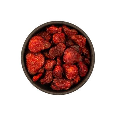 Pure Dried Strawberries , 14oz - 400g