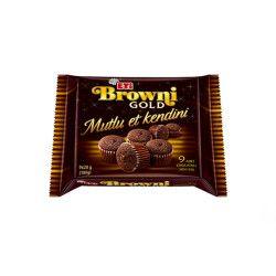 Eti - Browni Gold Mini Chocolate with Chocolate Sauce Box , 12 pieces