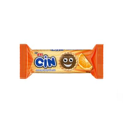 Cin Orange Jelly Biscuit , 114g 3 pack
