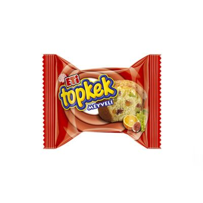 Topkek Cake With Fruit , 6 pack