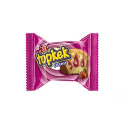Topkek Cake With Strawberry , 6 pack - Thumbnail