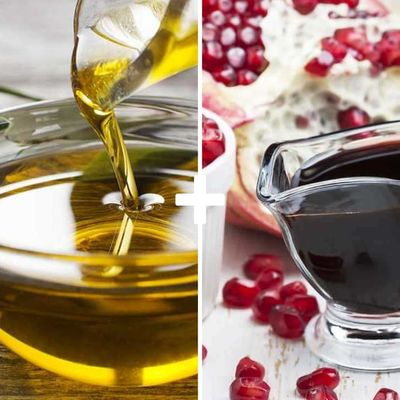 Extra-virgin Olive Oil and Pomegranate Salad Sauce
