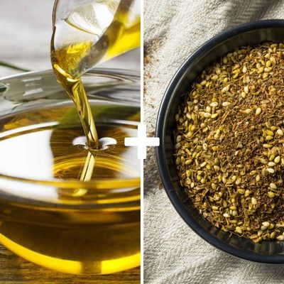 Extra-virgin Olive Oil and Zaatar
