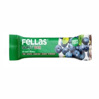 Fellas Fruit Bar with Chia and Blueberry , 40g 3 pack