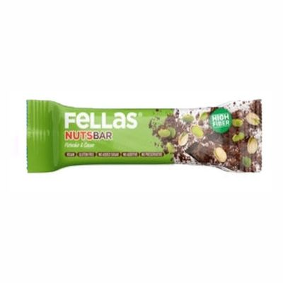 Fellas Fruit Bar with Pistachio and Cocoa , 40g 3 pack