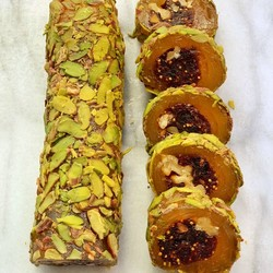 Fig Flavoured Turkish Delight With Walnut, 12oz - 350g - Thumbnail