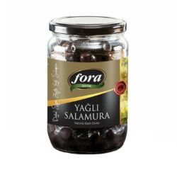 Fora - Fora Gemlik Natural Oily Low-Salted Olives , 450 gr