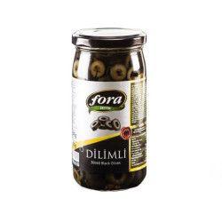 Fora Sliced Black Olives , 5.6oz - 160g - Thumbnail