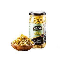 Fora Sliced Green Olives , 5.6oz - 160g - Thumbnail
