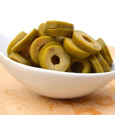 Fora Sliced Green Olives , 5.6oz - 160g