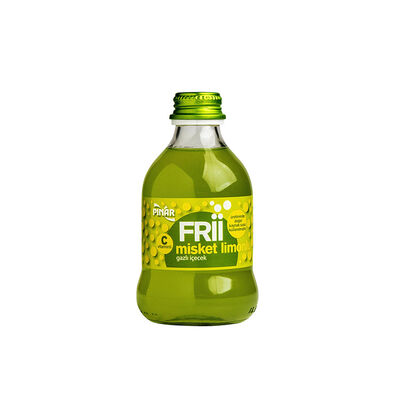 Frii Sparkling Water with Lime Flavored, 8.45floz - 250ml