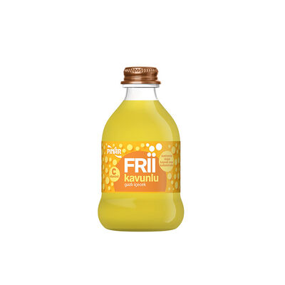 Frii Sparkling Water with Melon Flavored, 8.45floz - 250ml