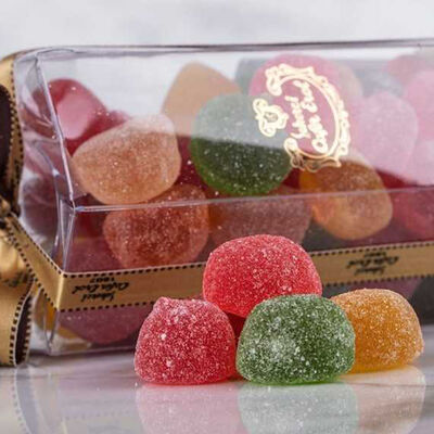 Fruit Flavored Round Jelly , 12.4oz - 350g