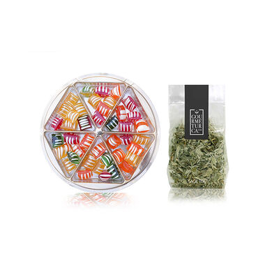 Fruity Rock Candy and Sage Tea