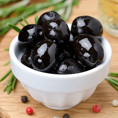 Gemlik Natural Brine Black Olive , 17.63oz - 500g