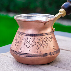 Gold Copper Coffee Pot - Thumbnail