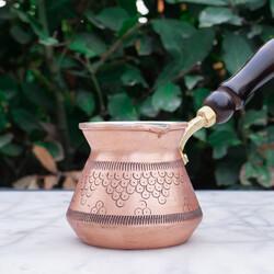 Gold Copper Coffee Pot - Thumbnail