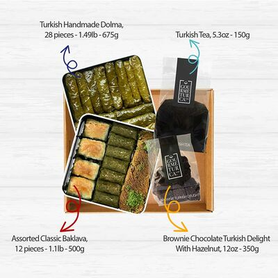 Gourmet Appetizers Basket , 4 pieces