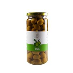 Cracked Green Olives , 13.4oz - 380g - Thumbnail