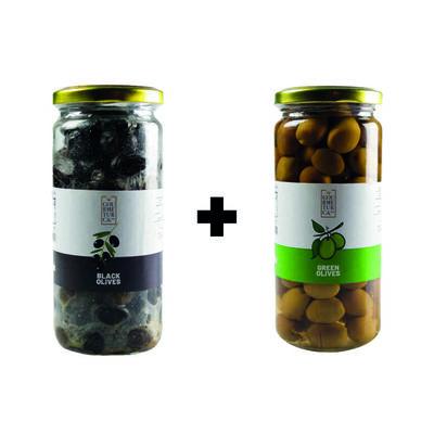 Green Olives - Black Olives