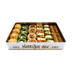Assorted Baklava , 28 pieces - 2.2lb - 1kg - Thumbnail