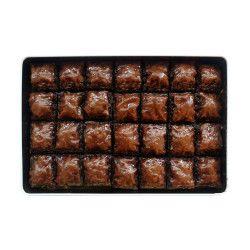 Chocolate Pistachio Baklava , 28 pieces - 2.2lb - 1kg - Thumbnail