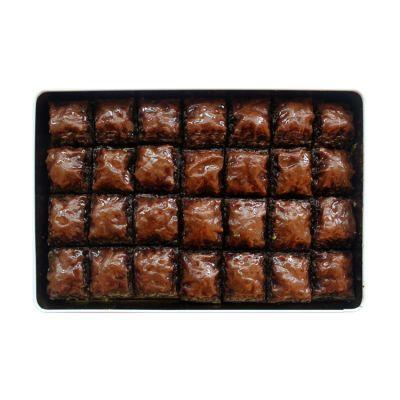 Chocolate Pistachio Baklava , 28 pieces - 2.2lb - 1kg