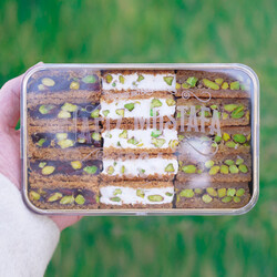 Turkish Delight With Shredded Pastry , 15.8oz - 450g - Thumbnail