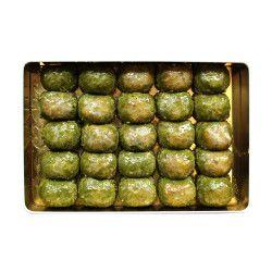 Pistachio Dilber Baklava , 25 pieces - 2.2lb - 1kg - Thumbnail