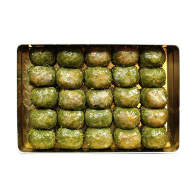 Pistachio Dilber Baklava , 25 pieces - 2.2lb - 1kg