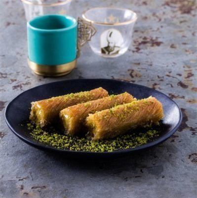 Pistachio Twisted Kadaif , 21 pieces - 2.6lb - 1.2kg
