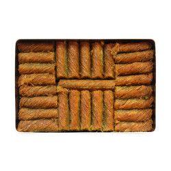 Pistachio Twisted Kadaif , 21 pieces - 2.6lb - 1.2kg - Thumbnail
