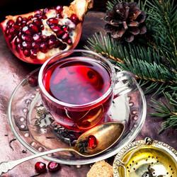 Pomegranate Tea , 2.6oz - 75g - Thumbnail