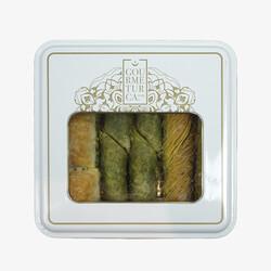 Handmade Assorted Deluxe Baklava , 1.1lb - 500g - Thumbnail